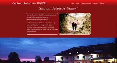 centrum pobytowe dla seniorów , strona internetowa