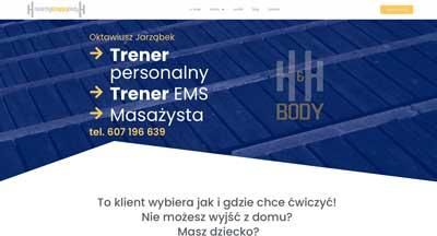 hh-body.pl, serwis internetowy, trener personalny