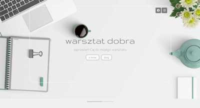 strona internetowa, blog, warsztat dobra.pl